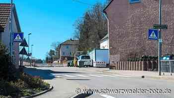 Wildberg: Baustelle: Eine Unannehmlichkeit wartet noch auf die Bürger - Wildberg - Schwarzwälder Bote