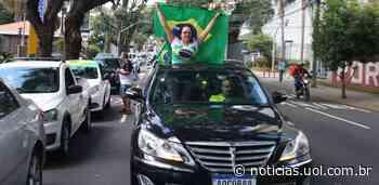 Carreata em Curitiba pede fim da quarentena e web reage a carros de luxo - UOL