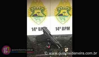 Medianeira: Após denúncia de disparos de arma de fogo, PM detém uma pessoa e apreende pistola - Guia Medianeira