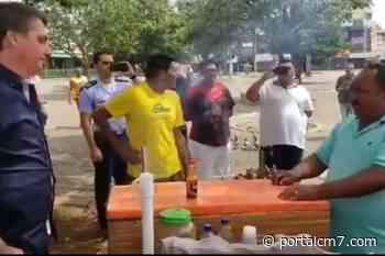 Presidente Bolsonaro vai ao mercado e faz tour por Brasilia e conversa com várias pessoas na rua. - PortalCM7