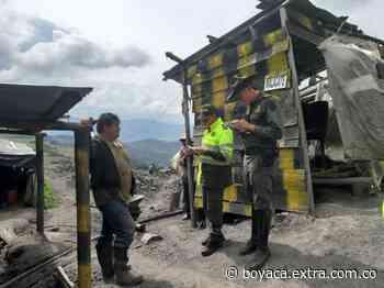 Navidad 'negra' para los mineros: sellaron una mina en Cucaita - Extra Boyacá