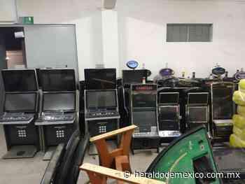 Aseguran casino ilegal en San Felipe, Baja California - heraldodemexico.com.mx