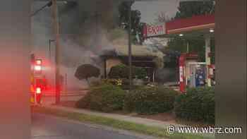 Fire rips through Florida Street car wash Monday morning