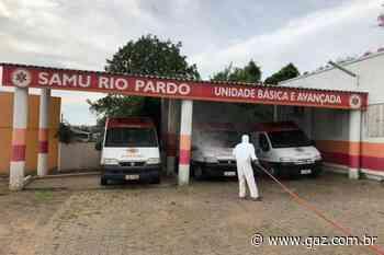 Serviço de sanitização é realizado em Rio Pardo - GAZ