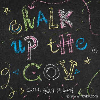 Sidewalk Chalk to Spread Positivity in Covington on Sunday - The River City News