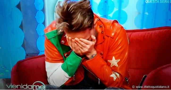 """Francesco Facchinetti: """"Mi sono detto 'mio padre ha paura'. Abbiamo pianto al telefono"""""""