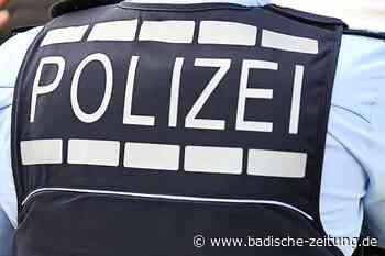 Motorradfahrer wird bei Unfall in Steinen leicht verletzt - Lörrach - Badische Zeitung
