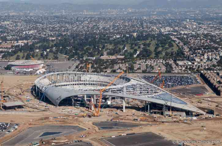 SoFi Stadium Construction Worker Tests Positive For COVID-19