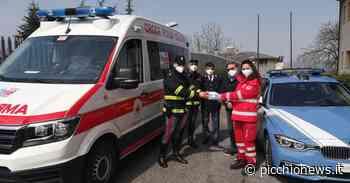 """Camerino, Croce Rossa, Broglia: """"donate 300 mascherine alle Forze dell'Ordine"""" (FOTO e VIDEO) - Picchio News"""