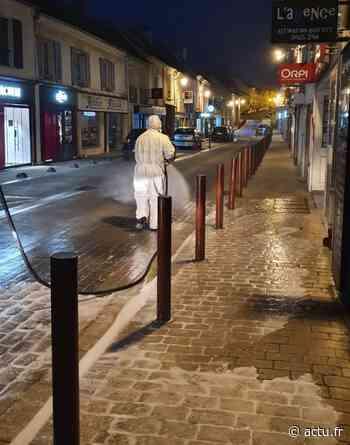 Coronavirus en Seine-et-Marne. Des rues commerçantes désinfectées à Claye-Souilly tous les vendredis - actu.fr
