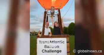 Transatlantic balloon flight up in the air amid COVID-19 pandemic