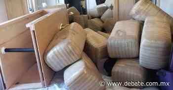 Interceptan casa rodante con 890 kilos de marihuana en Sonoyta - DEBATE