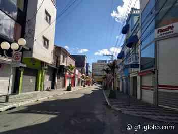 Ruas de Mogi das Cruzes ficam vazias no primeiro dia de quarentena - G1