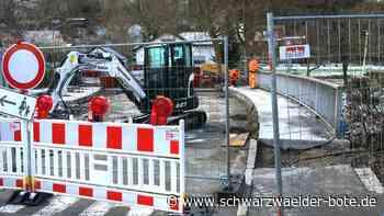 Hechingen: Für mehr Sicherheit: Starzelbrücke zurzeit gesperrt - Hechingen - Schwarzwälder Bote