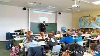 Hechingen: Prävention in der Schule zu Gefahren im Netz - Hechingen - Schwarzwälder Bote