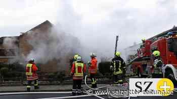 Salzgitter-Bad: Doppelhaushälfte in Brand – keine Verletzten