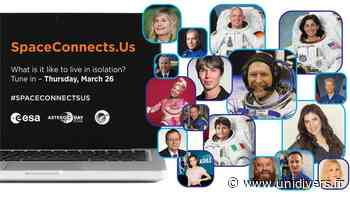 #SpaceConnectUs – jeudi 26 mars CentraleSupélec,campus Paris-Saclay Gif-sur-Yvette 26 mars 2020 - Unidivers