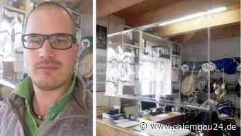 Seeon-Seebruck: Christoph Langer fertig in Segelmacherei Spuckschutz für Theken und Kassen in Corona-Krise | Seeon-Seebruck - chiemgau24.de