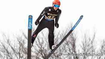 Skispringer Leyhe gewinnt Weltcup in Willingen - Süddeutsche Zeitung