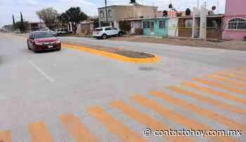 Pavimenta Secope calles en Guadalupe Victoria - Contacto Hoy