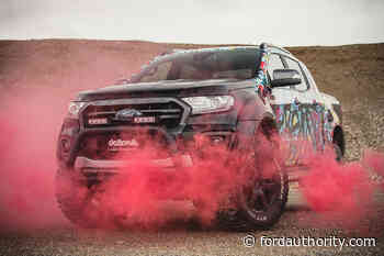 Delta 4x4 Ford Ranger Has Wild Graphics And Off-Road Hardware - Ford Authority