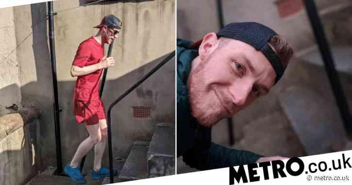 Man runs the height of Snowdon using a step in backgarden during Coronavirus lockdown