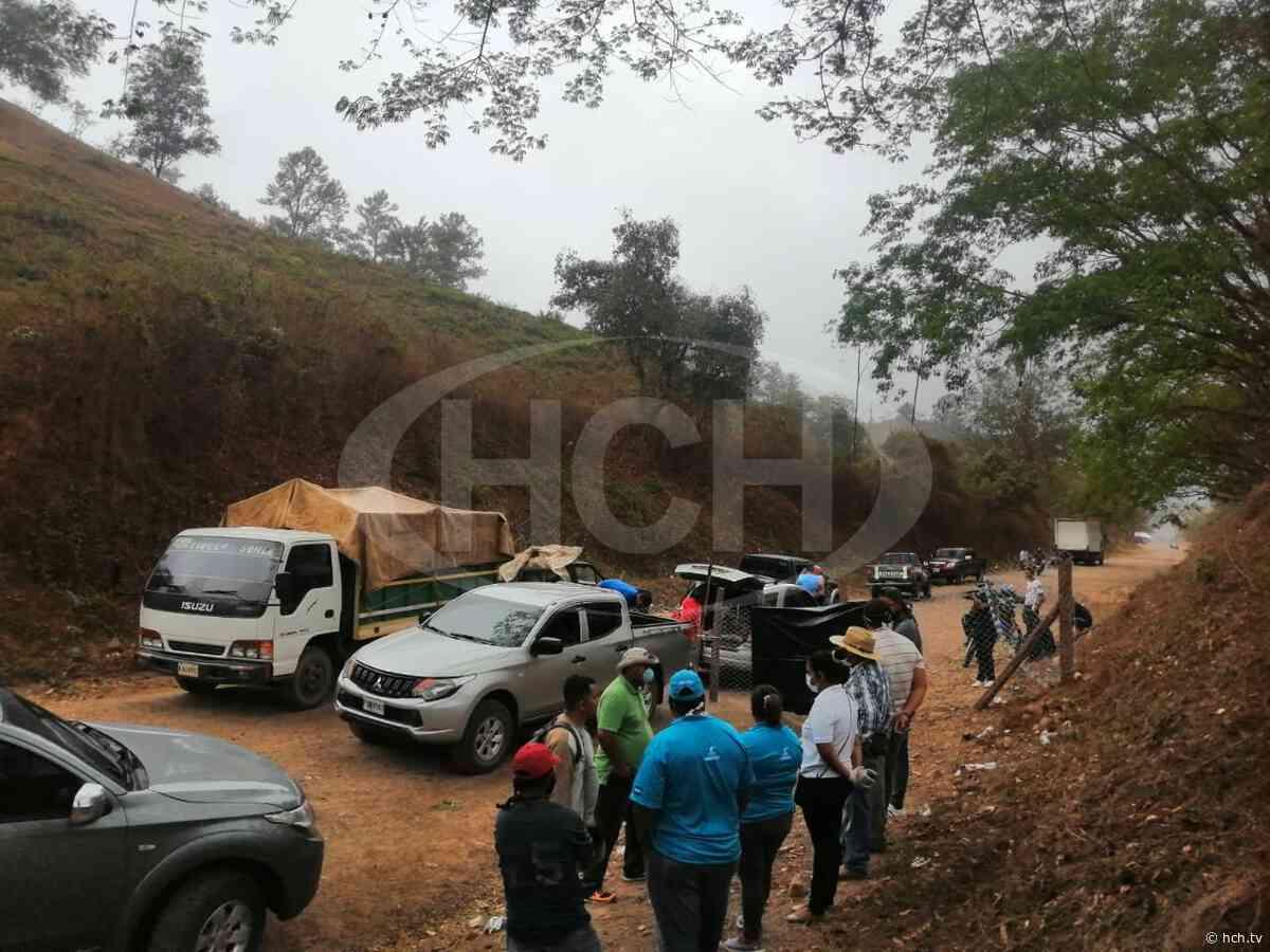 Previniendo casos de #Covid, cierran carretera a Salamá, Olancho - hch.tv