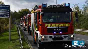 Feuerwehr in Menden sieht sich für alle Fälle gewappnet - WP News