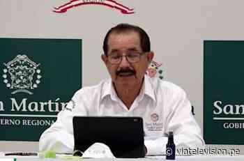 Gobernador regional Pedro Bogarín confirmó paciente con coronavirus en Juanjuí - VIA Televisión