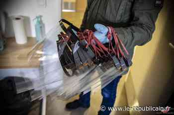 Essonne : don de visières de protection pour les policiers à Montgeron - Le Républicain de l'Essonne