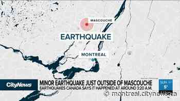 Minor earthquake just outside of Mascouche - CityNews Montreal
