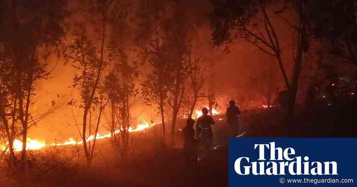 Huge forest fire kills 18 firefighters and one guide in China