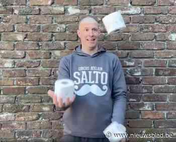 VIDEO. Leer jongleren met toiletpapier