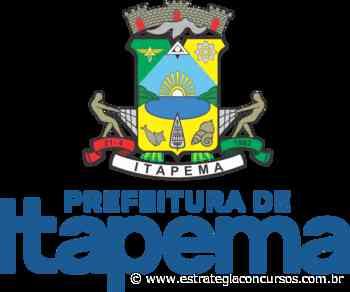 Concurso Prefeitura de Itapema: banca é definida; edital iminente! - Estratégia Concursos