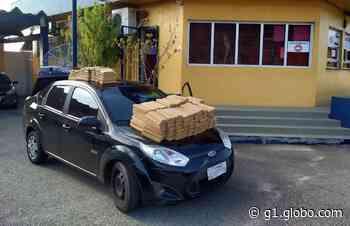 PRF apreende 193 quilos de maconha dentro de carro em Itapema - G1