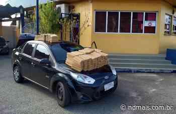 Motorista tenta fugir da polícia com 210 quilos de maconha, em Itapema - ND - Notícias