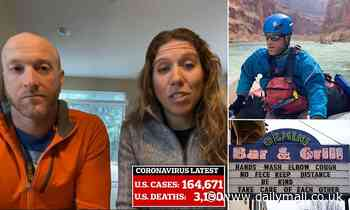 Couple returns home from 24-day rafting trip with no internet to discover coronavirus pandemic