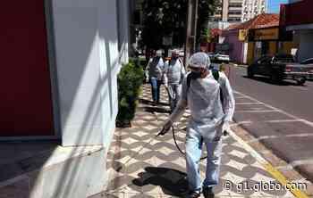 Saúde realiza desinfecção das principais ruas de Presidente Venceslau para prevenir avanço do coronavírus - G1