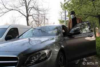 Mantes-la-Ville. Le chauffeur VTC transporte gratuitement des soignants - actu.fr