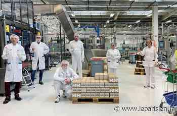 A Chevilly-Larue, L'Oréal distribue 10 800 bouteilles de gel hydroalcoolique - Le Parisien