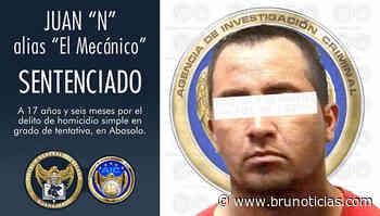 Condenan a sujeto por agredir a elementos de la AIC en Abasolo - Brunoticias