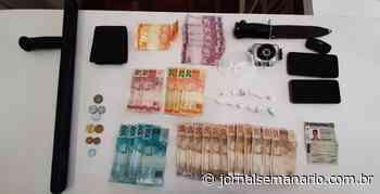 Jovem é preso por tráfico de drogas em Carlos Barbosa - jornalsemanario.com.br