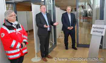 Amberg: Corona-Testzentrum errichtet - Region Amberg - Nachrichten - Mittelbayerische