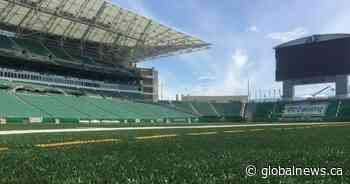 Construction begins to repair waterline at Mosaic Stadium in Regina - Global News