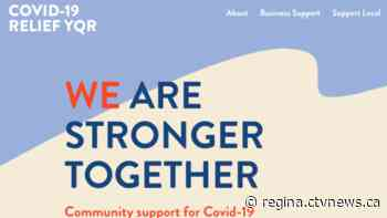'We are stronger together': This website aims to support the Regina community during COVID-19 crisis - CTV News