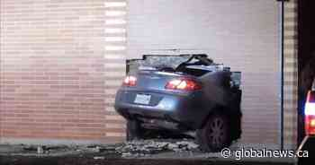 Car crashes into Regina preschool centre, woman charged with impaired driving - Global News