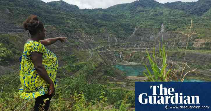 Rio Tinto accused of violating human rights in Bougainville for not cleaning up Panguna mine