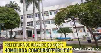 Concurso Público de Juazeiro do Norte é homologado. Convocação dos aprovados será imediata - Flavio Pinto