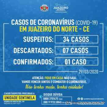 Juazeiro do Norte tem 34 casos suspeitos de infecção por coronavírus; sete já foram descartados - O POVO