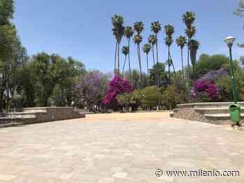 Parque Hidalgo en la ciudad de León, luce vacío por contingencia - Milenio